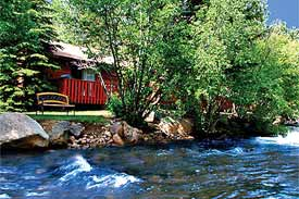 Secluded And Private Luxury Cabin Suites On 17 Acres Along The Fall River.  Relax In You Own Private Hot Tub On Your Deck ...